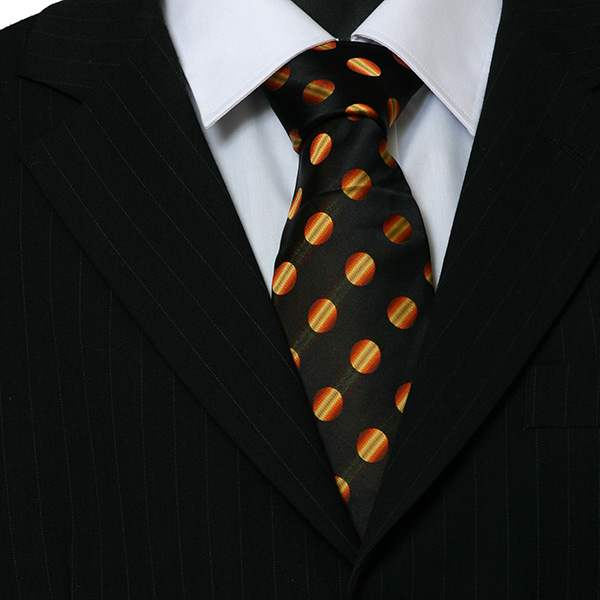 black orange spots