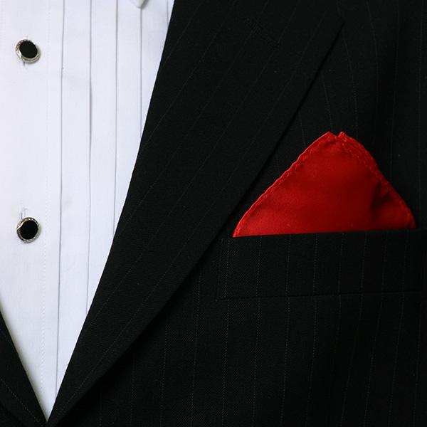 Red Silk Hankie