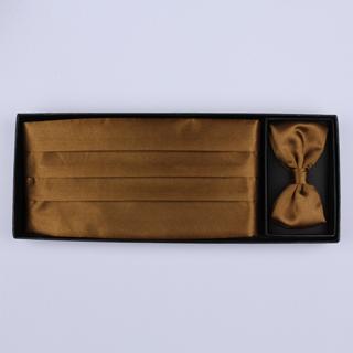 Bronze Cummerbund And Bow Tie Set