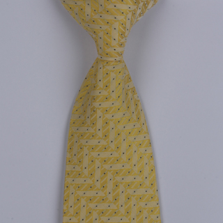 Yellow Stiar Design Clip-on Tie-0