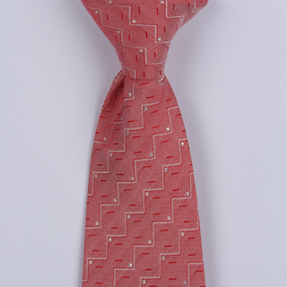 Pink Stairs Clip-on Tie-0