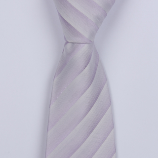 LILAC STRIPES BOYS TIE