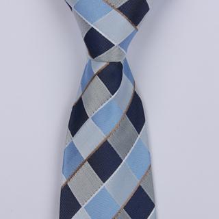Blue/Grey Diamonds Boys Tie