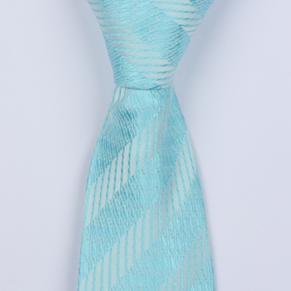 AQUA PATTERNED BOYS TIE