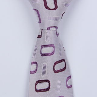 LILAC ABSTRACT BOYS TIE-0