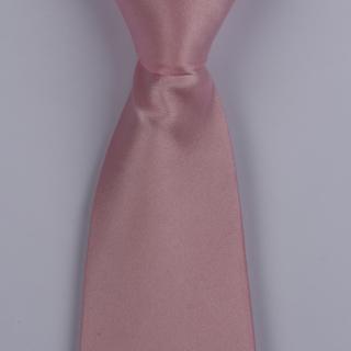 Pink Silk satin Tie-0