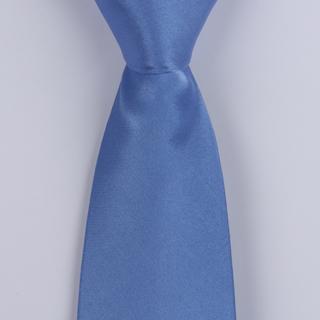 Sky Blue Silk satin Tie-0