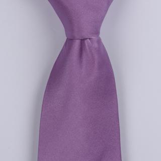 Mauve Silk satin Tie-0