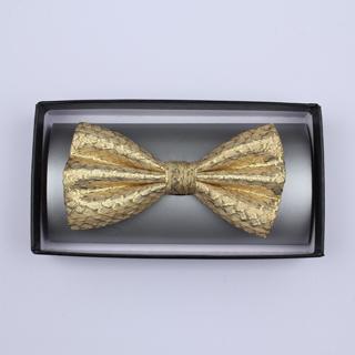 Gold Silk / Lurex Bow Tie