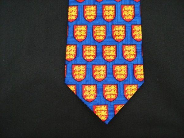 Coat of arms silk tie -0
