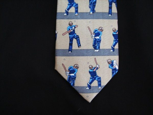 cricket silk tie-0