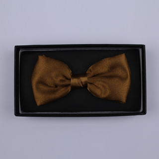 Plain Bronze Bow Tie-0