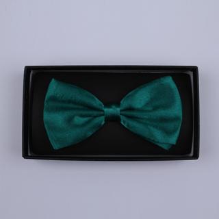 Plain Turquoise Bow Tie-0