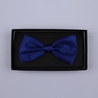 Plain Royal Blue Bow Tie-0