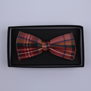 Red/GREEN Tartan Bow Tie-0