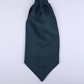 Blue/black micro square Self-Tie Cravat