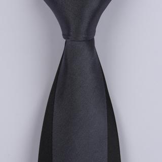 Grey Sorrento Printed Silk Ties-0