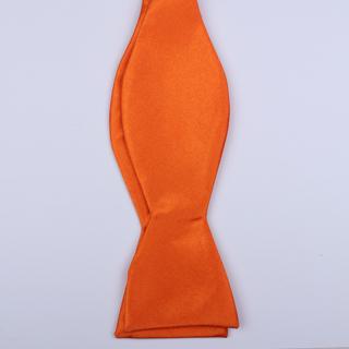 Orange Self-Tie Bow Ties-0