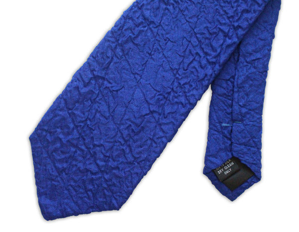 Royal Blue Quilted Tie-0