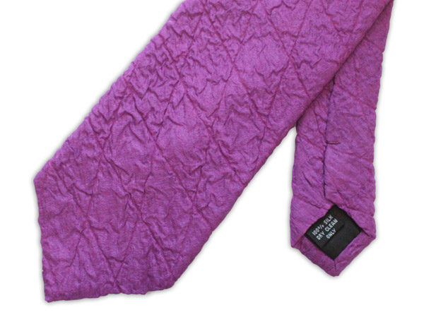 Magenta Quilted Tie-0