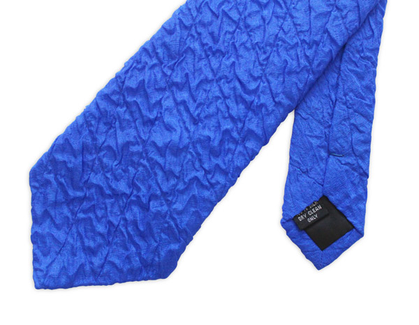 Blue Quilted Tie