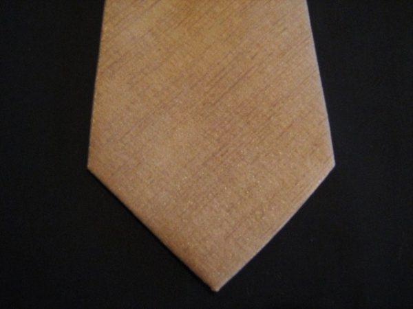 Beige XL Woven Poly Tie-0