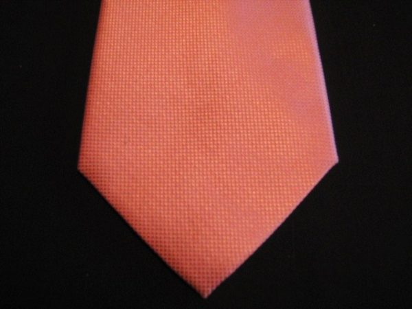Orange/Peach extra-long tie-0