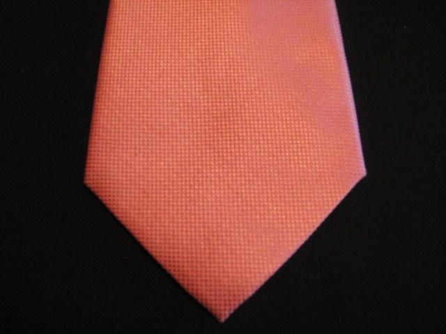 Orange/Peach extra-long tie