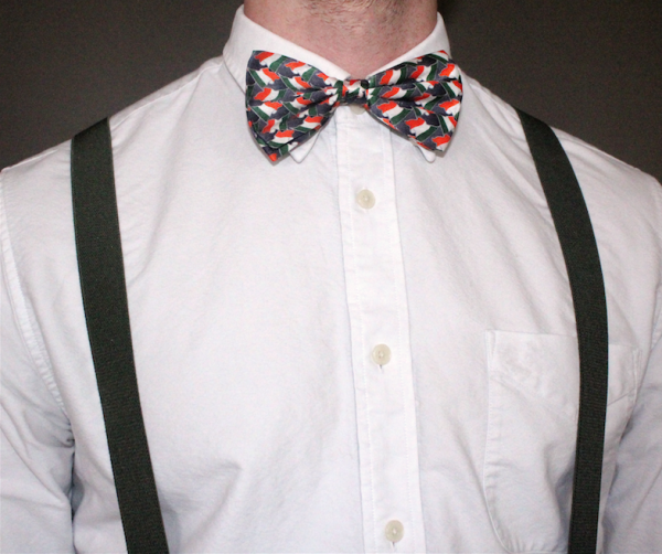 IRELAND FLAG SILK BOWTIE-0