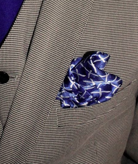 Scotland Silk Pocket Square -0