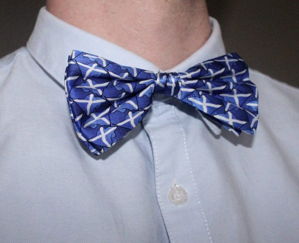 Scotland Silk Bow Tie -0
