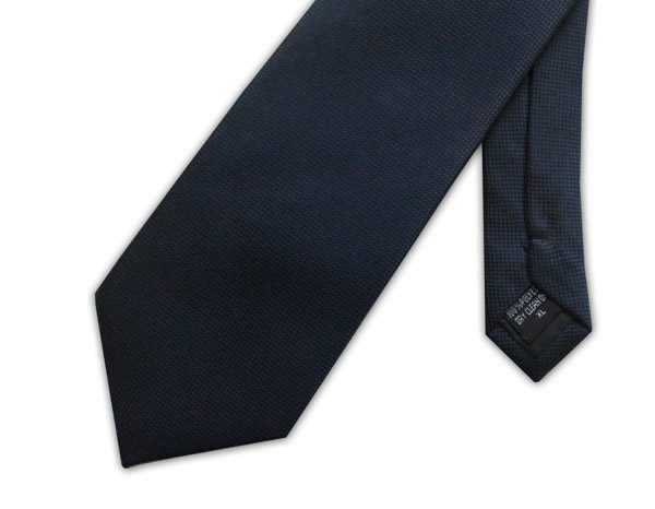 Navy Clip-on Tie -0