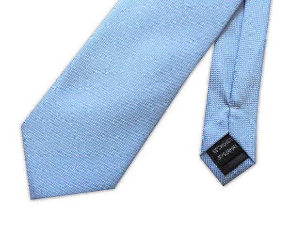 SKY BLUE MICRO GRID TIE-0