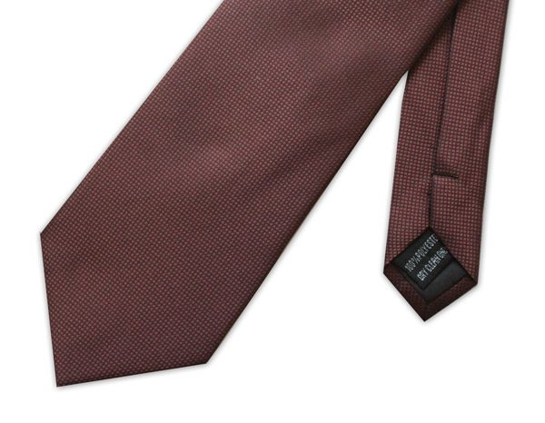 BROWN MICRO GRID XL TIE-0