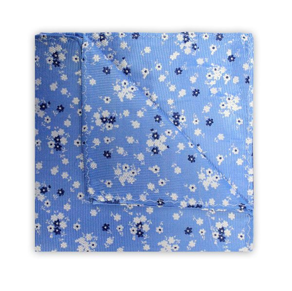 BLUE/NAVY/WHITE FLORAL SQUARE-0