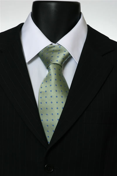 GREEN/BLUE DIAMOND TIE-0