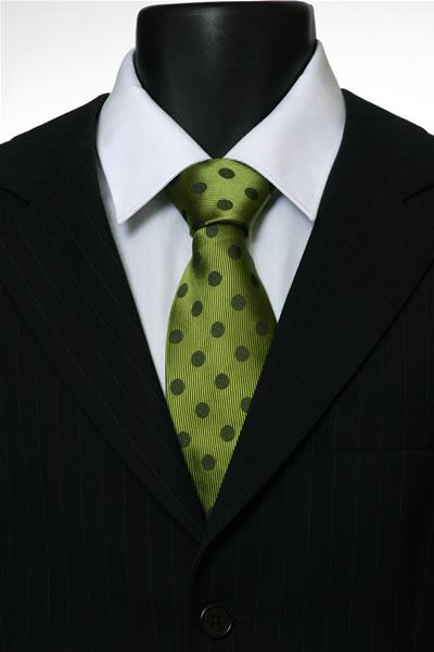 GREEN SPOT TIE-0