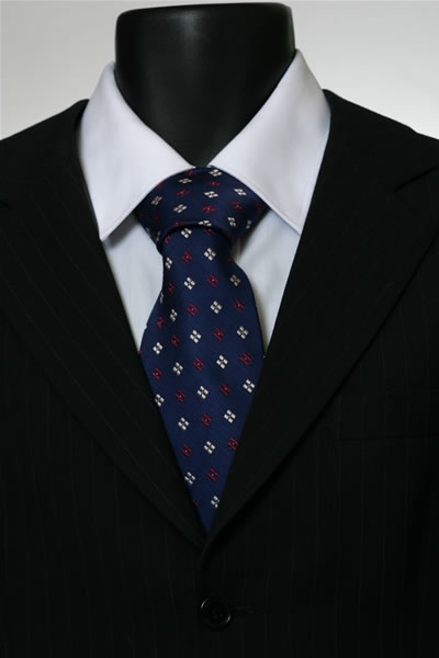NAVY/RED/WHITE DIAMOND TIE-0