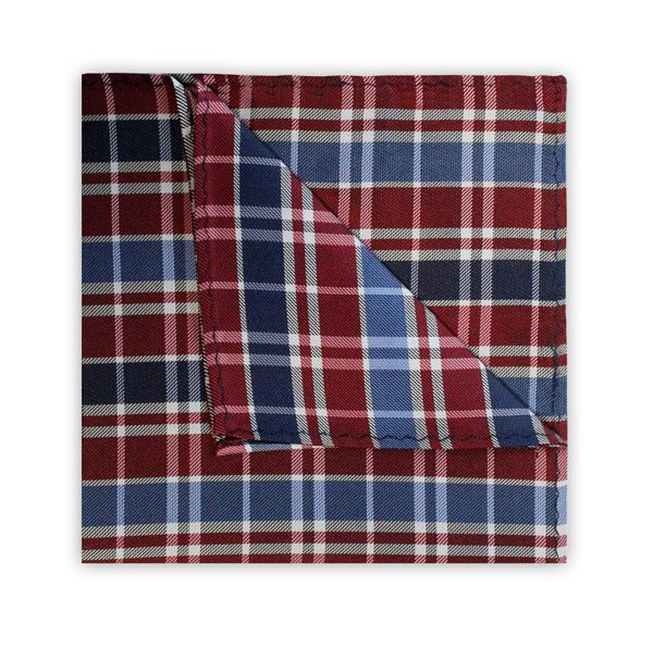 NAVY/BLUE/RED CHECK SQUARE-0