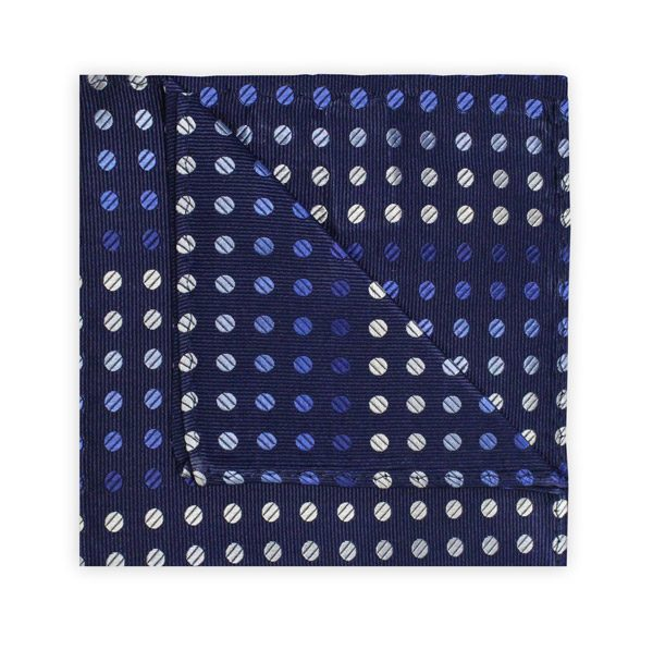 NAVY/BLUE SPOT SQUARE-0