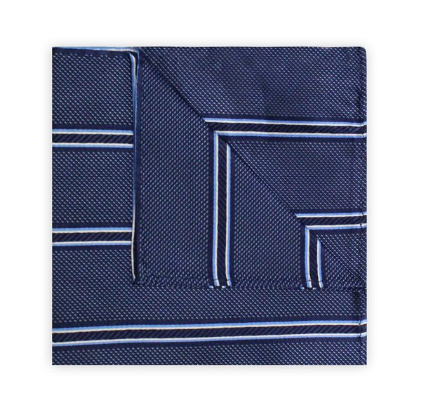NAVY STRIPE SQUARE-0