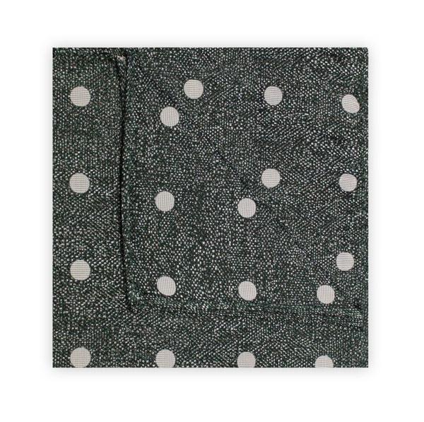 GREEN/WHITE MOTTLED SPOT SQUARE
