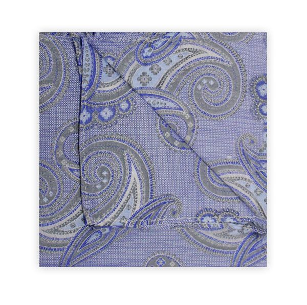 BLUE PAISLEY SQUARE-0