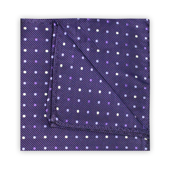 PURPLE SPOT SQUARE