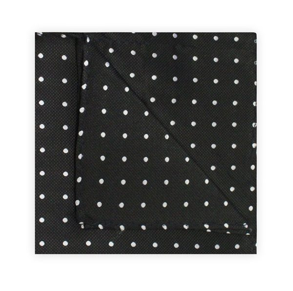 BLACK/WHITE SPOT SQUARE-0