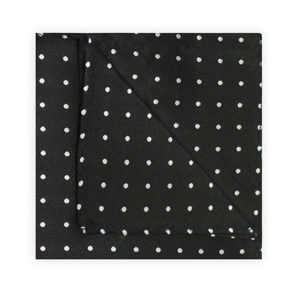 BLACK/WHITE SPOT SQUARE