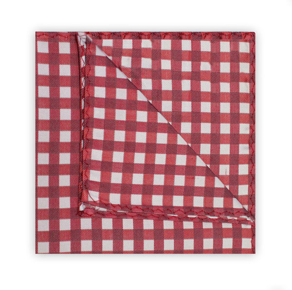 RED/WHITE GINGHAM SQUARE-0