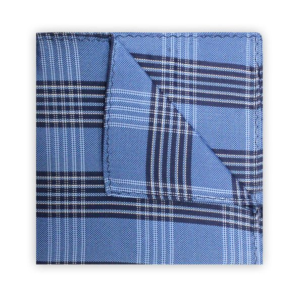 LIGHT BLUE/NAVY CHECK SQUARE-0