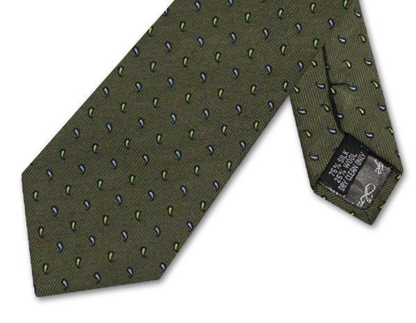 OLIVE GREEN PINDOT PAISLEY-0