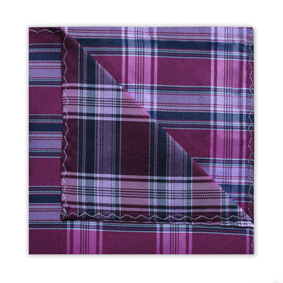 PINK/NAVY CHECK SQUARE